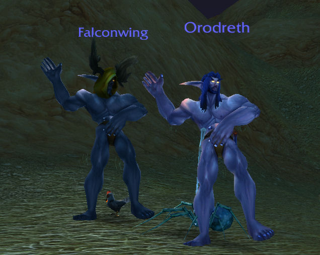 Falcon_and_Oro_Neked_Dancing